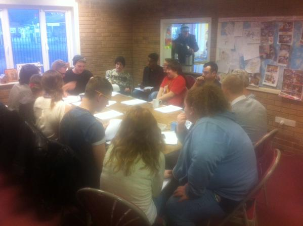 Tweet First read through for an upcoming film we're hopi…